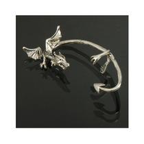 Pendiente Dragón Moda (plata)
