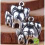 Elefante Con Cria Precioso Dije Plata Tibetana 0239