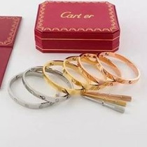 Brazalete Pulsera Cartier Love Original Caja Certificado