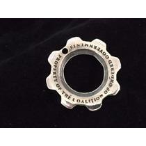 Cog Tag Gears Of War Ii Plata Ley .925