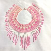 Collar Artesanal De Chaquira