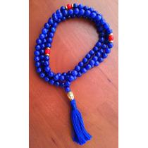 Rosario Budista * Cristal Afgano Azul * Meditación * Mantras