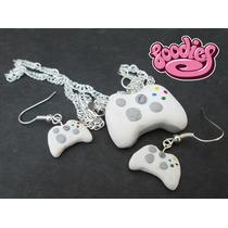 Juego De Aretes Con Collar De Xbox