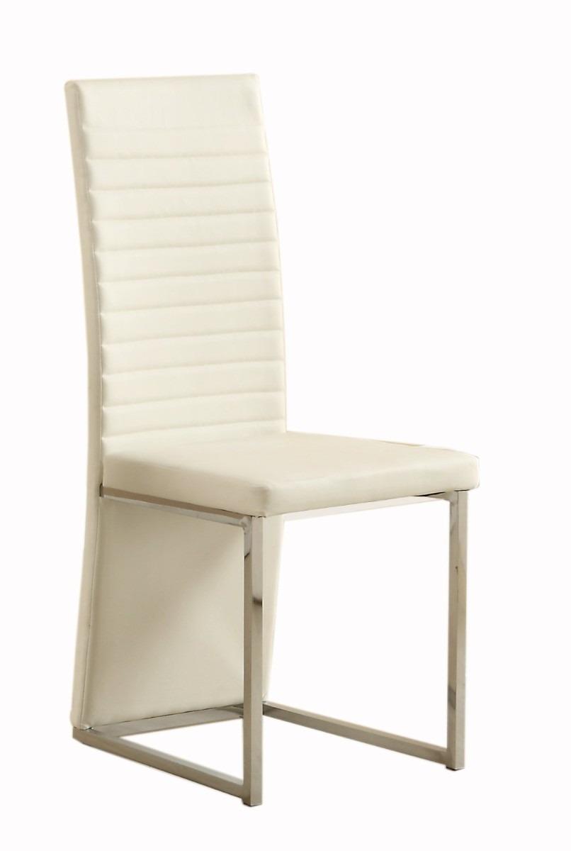 Juego de 4 sillas para comedor mesa tapizada hm4 7 599 for Juego de sillas de comedor