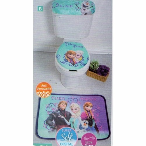 Juego De Baño De Frozen - $ 505.00 en MercadoLibre