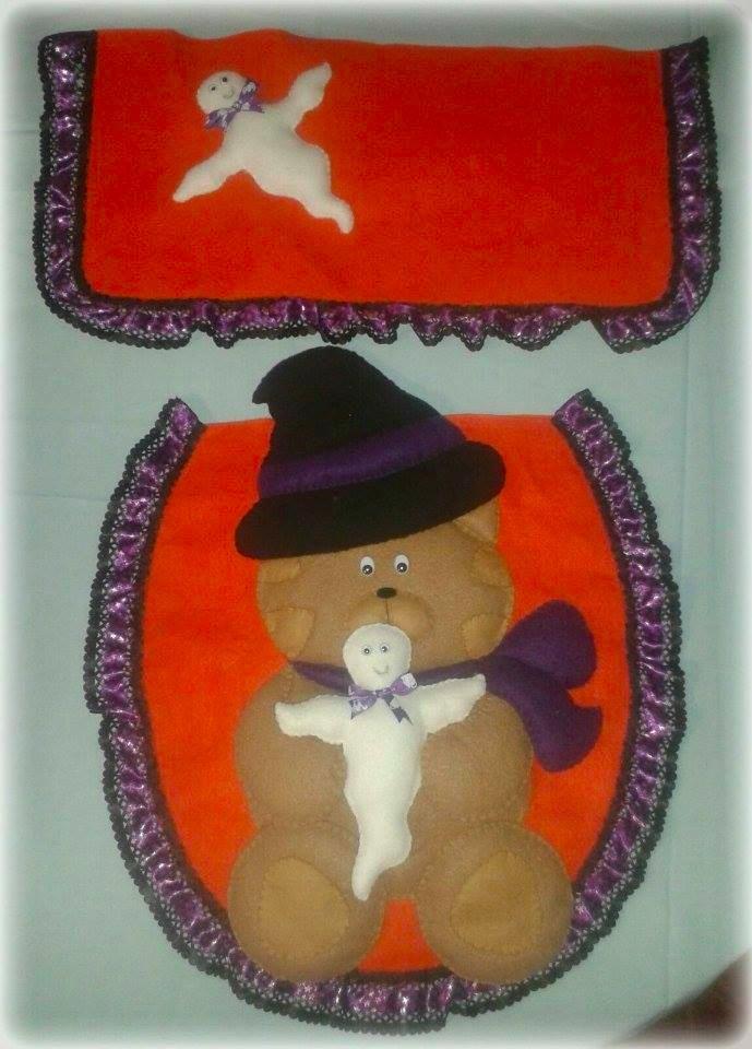 Juegos De Baño Halloween:Juego De Baño Halloween – $ 28000 en MercadoLibre