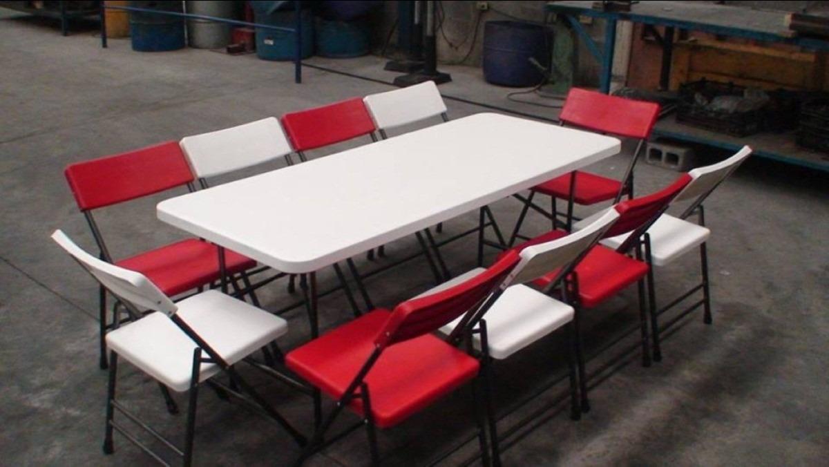 Juego de1 mesa y 10 sillas 3 en mercadolibre for Juego de mesa y sillas