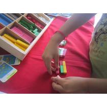 Regletas Material Didactico Matematicas Montessori Escuela