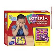 Loteria De Multiplicacion Y Division Material Didactico