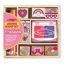Juegos De Sellos Con Lapices De Colores