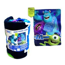 Disney Pixar Monsters Universidad Micro Raschel Manta Lanza