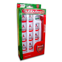 Subbuteo Set - Paul Lamond Equipo Box Arsenal Jugadores Tabl