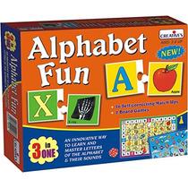 Preescolar Juego - Creativo Alphabet Fun -3 En Uno Niños