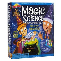 Kit De Ciencia Mágica Científico Explorador 0sa247 Para Wiza