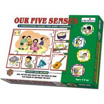 Juego Educacional - Creativo Preescolar Nuestros Cinco Senti