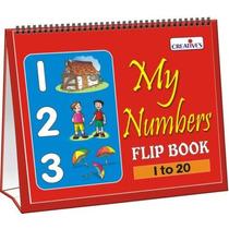 Juego Escuela Pre - Creativo - Mis Números Voltear Libro Ap