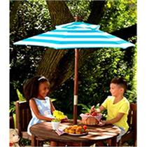 Mesa Y Sillas Jardin Para Niños, Kidcraft Sombrilla Juego