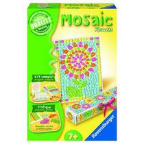 Mosaico Flores : Manualidad Para Niños Ravensburger Fn4
