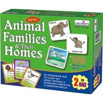 Preescolar Juego - Animales Creativos Familias Y Sus Hogares