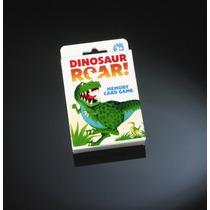 Juego De Memoria - Dinosaurio Tarjeta Rugido Para Niños