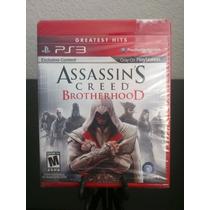 Assassin Creed Brotherhood Ps3 Nuevo De Fabrica Citygame