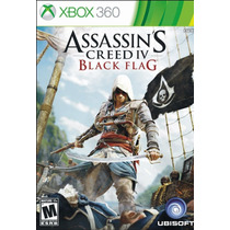 Assassins Creed Flag Black Xbox 360 + Envio Gratis