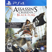 ..:: Assassins Creed Iv Black Flag::.. Para Playstation 4