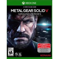 Metal Gear Solid V: Ground Zeroes Xbox One Blakhelmet Sp