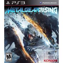 Metal Gear Rising: Revengeance Ps3 Blakhelmet Sp