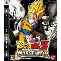 Dragon Ball Z Burst Limit Ps3 Japonesa
