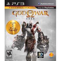 God Of War: Saga Collection Ps3 Usado Blakhelmet Sp