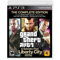 Grand Theft Auto Iv + Episodes From Liberty City Para Ps3
