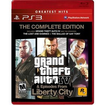 Grand Theft Auto 4 Complete Edition Ps3