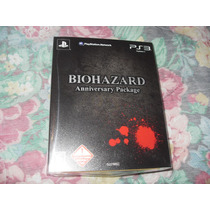 Resident Evil Biohazard Anniversary Package Playstation 3