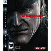 Metal Gear Solid 4 Guns Of The Patriots Ps3 Nuevo