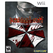 Resident Evil Umbrella Chronicles Nintendo Wii Nuevo Hm4 Vv4