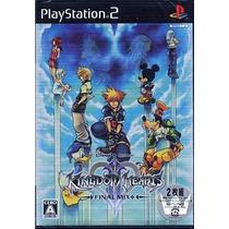 Kingdom Hearts 2 Final Mix Ps2 Japonesa