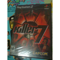 Killer 7 Ps2 Nuevo Capcom Fantasy Gear Resident Andreas God