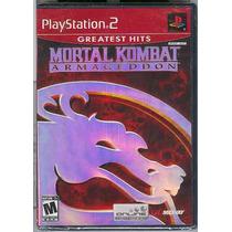 Ps2 Mortal Kombat Armageddon Nuevo-envio Gratis