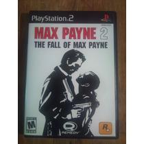 Max Payne 2 Para Playstation 2 Completo Como Nuevo Hm4