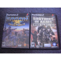 Brothers In Arms Road To Hill 30 Y Socom Us Navy Seals Ps2