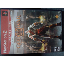 God Of War 2 - Gow Ii - Two Disc Set - Playstation 2 - Ps2