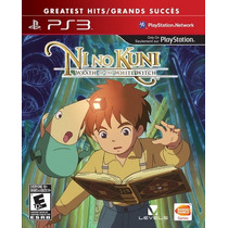 Ni No Kuni Wrath Of The White Witch Ps3 Nuevo Y Sellado Hm4