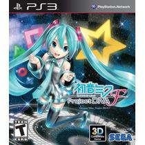 Hatsune Miku: Project Diva F + 3 Dlc Y 2 Juegos Extra