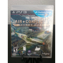 Air Conflicts Secret Wars Ps3 Nuevo De Fabrica Citygame