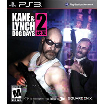 Kane & Lynch 2 Dog Days Ps3 Nuevo De Fabrica Citygame