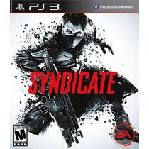 Syndicate Ps3 Nuevo De Fabrica Citygame