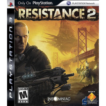 Resistance 2 Sony Ps3 Nuevo Sellado Original Vv4