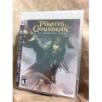 Piratas Del Caribe - Ps3 - Disney Nuevo