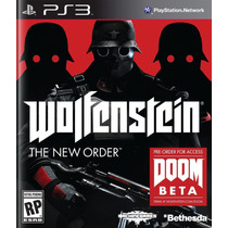 Wolfenstein The New Order Ps3 Nuevo De Fabrica Citygame